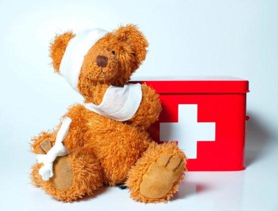 πρώτες βοήθειες για παιδιά